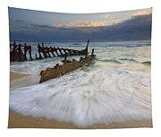 Swept Ashore Tapestry