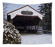 Swift River Bridge Conway New Hampshire Tapestry