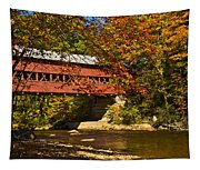 Swift River Covered Bridge In Conway New Hampshire Tapestry