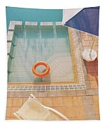 Swimming Pool Tapestry by Cassia Beck