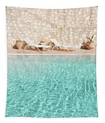 Swimming Pool V Tapestry by Cassia Beck