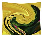 Swirling Colors Tapestry
