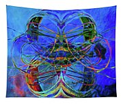 Swirls Abstract Tapestry