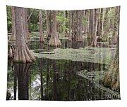Swirls In The Swamp Tapestry