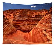 Swirls Waves And Buttes Tapestry
