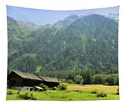 Swiss Mountain Home Tapestry