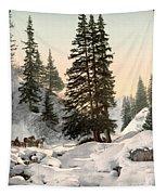 Switzerland: Davos, C1895 Tapestry