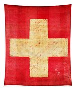 Switzerland Flag Tapestry