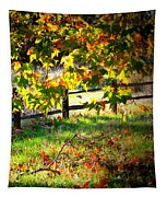 Sycamore Grove Fence 2 Tapestry