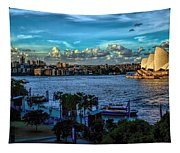 Sydney Harbor And Opera House Tapestry