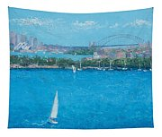 Sydney Harbour And The Opera House Vacation Tapestry