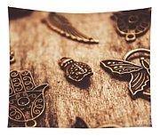 Symbols Of Zen Tapestry