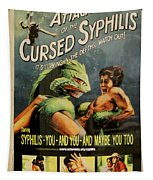 Syphilis Poster Tapestry