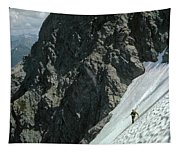 T-504102 1st Ascent On Mt. Shuksan Tapestry