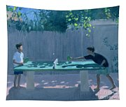 Table Tennis Tapestry
