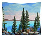 Tahoe Shore Tapestry