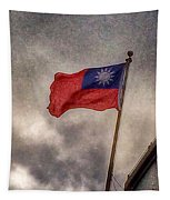 Taiwan Flag Tapestry