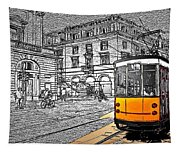 Take The Tram Tapestry