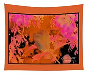 Take Three Floral Abstract Tapestry