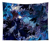 Tales In A Moonlit Wood Tapestry