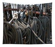 Tall Ship Lines V Tapestry