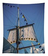 Tall Ship Sails 4 Tapestry