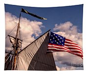 Tall Ship Sails 8 Tapestry