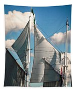 Tall Ship Sails IIi Tapestry