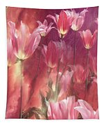 Tall Tulips Tapestry