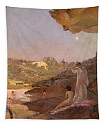 Tamarama Beach Forty Years Ago A Summer Morning  Tapestry