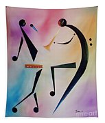 Tambourine Jam Tapestry