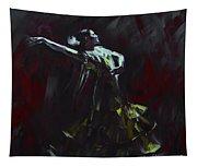 Tango Dancer 03 Tapestry