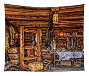 Tanning Room - Fort Ross California Tapestry