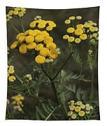 Tansy Blossoms Tapestry