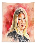 Tara Summers In Boston Legal Tapestry