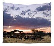 Tarangire Sunset Tapestry