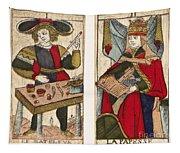 Tarot Cards, C1700 Tapestry