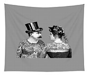 Tattooed Victorian Lovers Tapestry