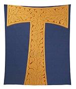 Tau Cross Tapestry