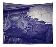 Tcu Horned Frog Purple Tapestry