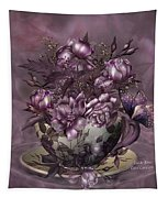 Tea And Roses Tapestry