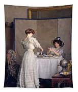 Tea Leaves Tapestry