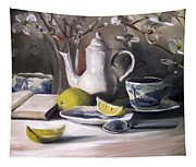 Tea With Lemon Tapestry