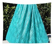 Teal Green Lace Skirt. Ameynra By Sofia Tapestry