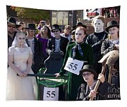 Team 55 At Emma Crawford Coffin Races In Manitou Springs Colorado Tapestry