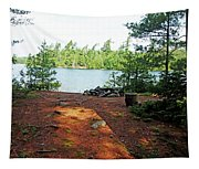 Temagami Island Campsite I Tapestry
