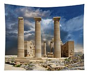 Temple Of Athena Tapestry