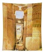 Temple Of Karnak  Tapestry