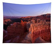 Temple Of The Setting Sun Tapestry