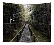 Temple Path - Kyoto Japan Tapestry